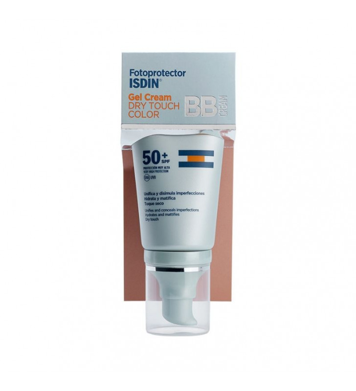 Fotoprotector. Gel Cream Dry Touch Color SPF50+ - ISDIN
