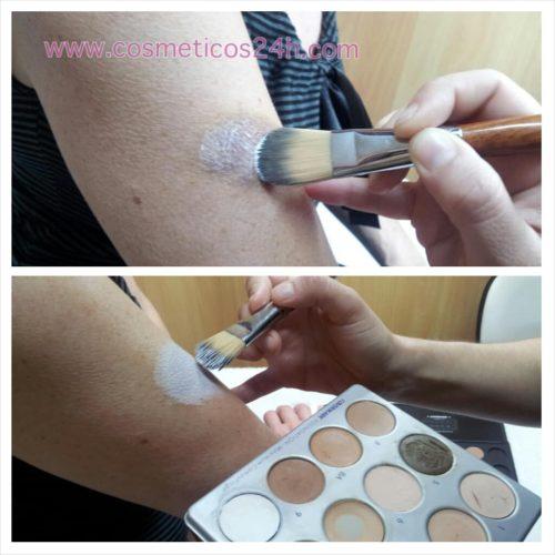 cómo maquillar un hematoma
