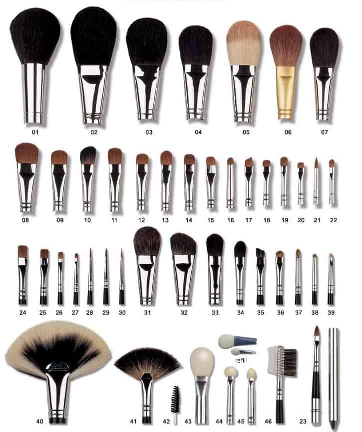 brochas de maquillaje - ¿cual prefieres?