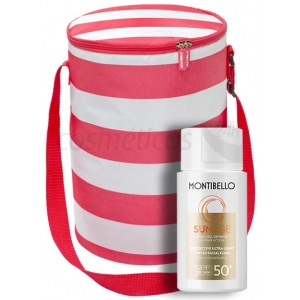 Pack Sun Age. Protective Ultra Light Fluid SPF 50+ y Cooler Bag - MONTIBELLO